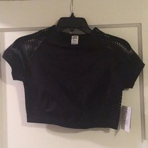 Mesh like work out top